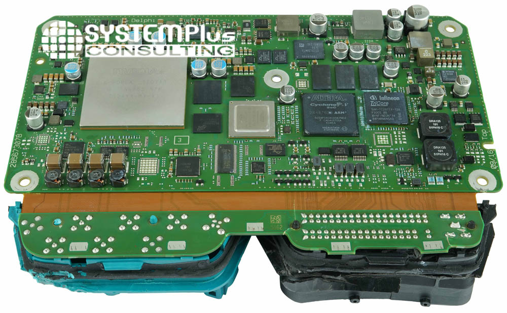 Electronic Board - Aptiv - Audio 8 zFAS - System Plus Consulting