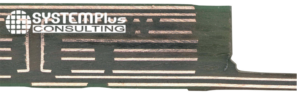 Board cross section - Aptiv - Audio 8 zFAS - System Plus Consulting